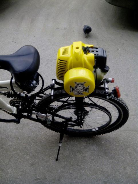 Двигатель на велосипед бензиновый