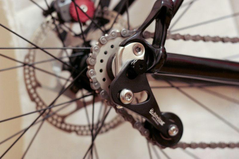 Натяжители цепи на велосипед