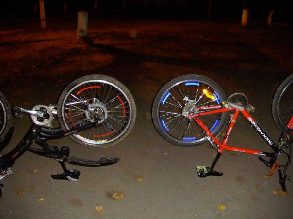 Как сделать литье на велосипед своими руками