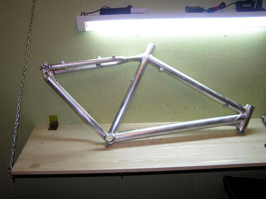 Покраска рамы велосипеда своими руками
