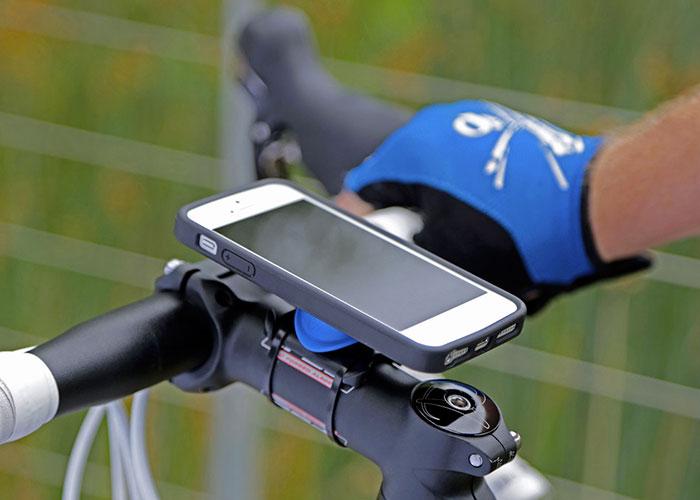Крепление телефона на велосипед