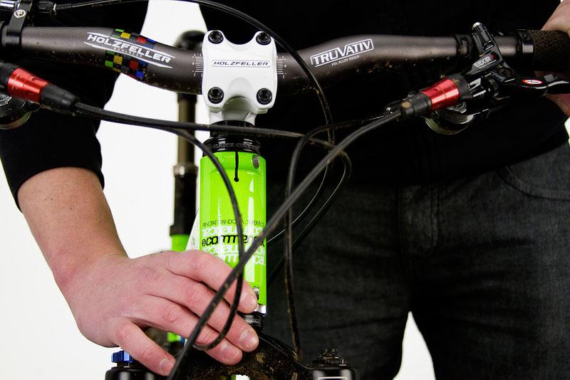 как отрегулировать руль не велосипеде