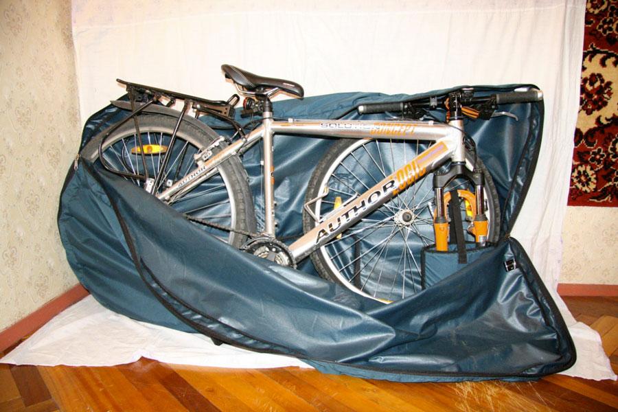 Сшить чехол для велосипедного седла