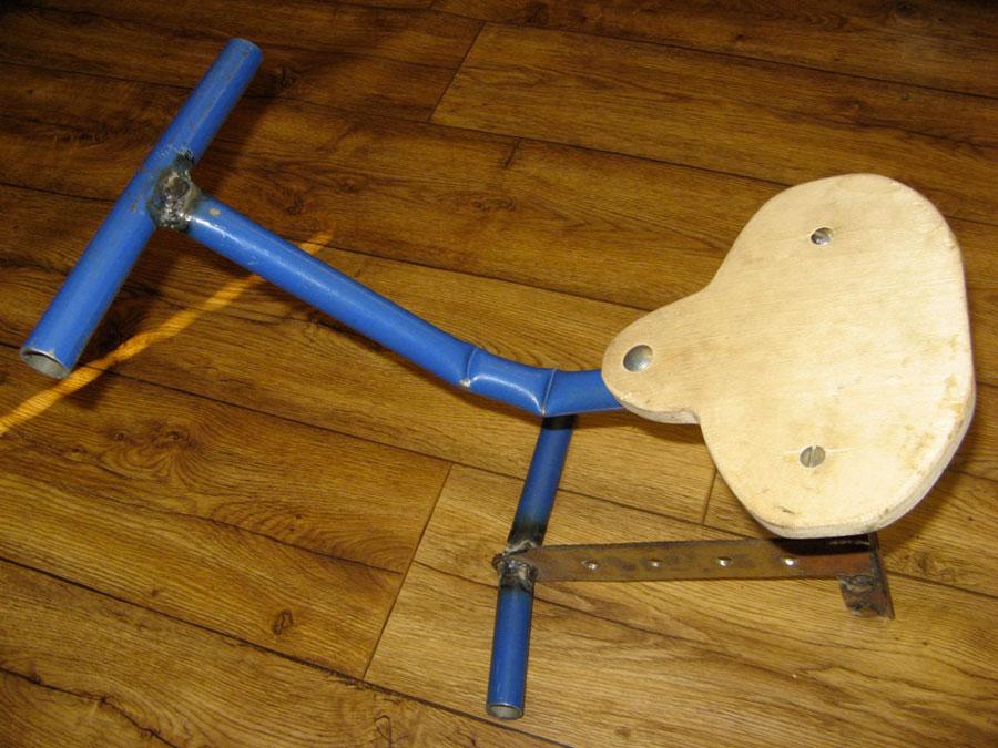 Велосипедное кресло своими руками