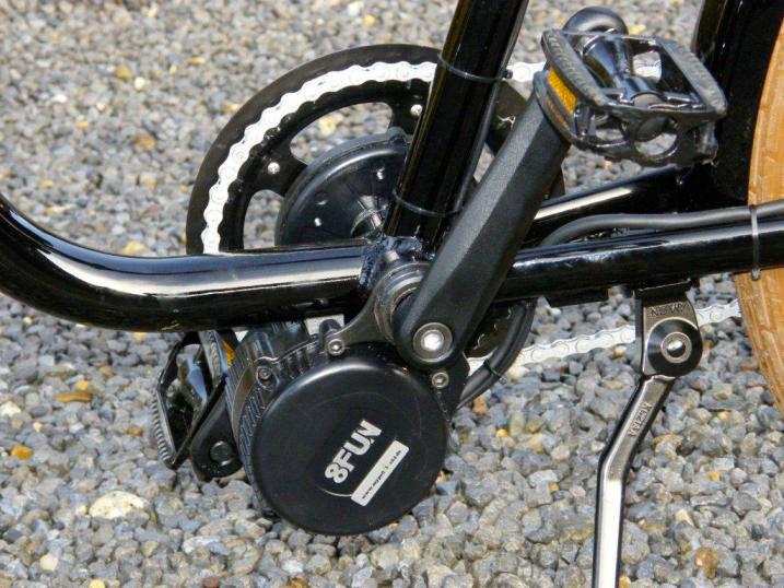 подвесной мотор колесо на велосипед