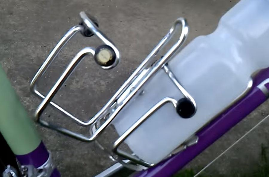 Флягодержатель для велосипеда своими руками