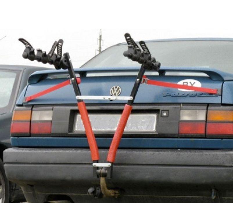 Как сделать велобагажник на фаркоп своими руками