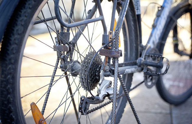 Как своими руками сделать стойку для велосипеда