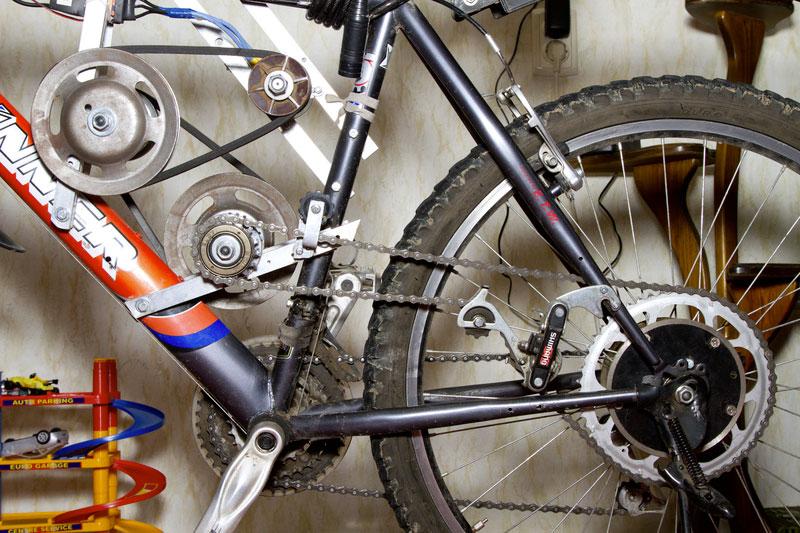 Велосипед с мотором своими руками (как самодельный байк)