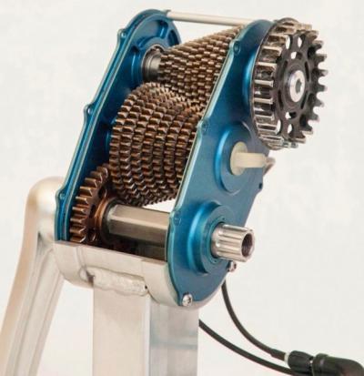 механизм переключения передач для велосипеда с цепной передачей
