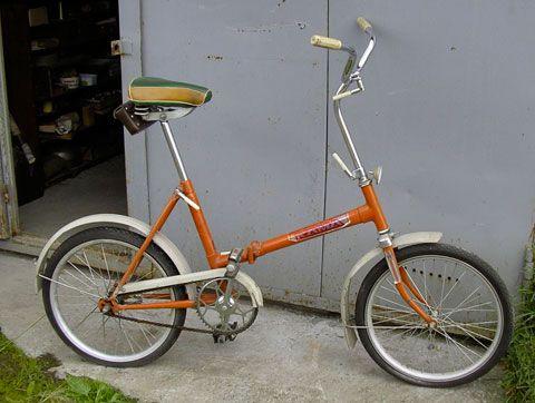 складной велосипед «Кама»