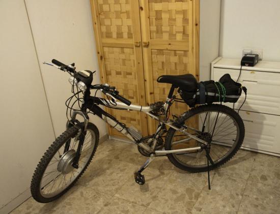 велосипед с системой мотор-колесо