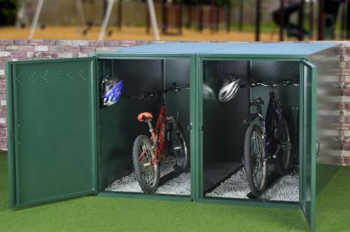 шкафы для хранения велосипедов