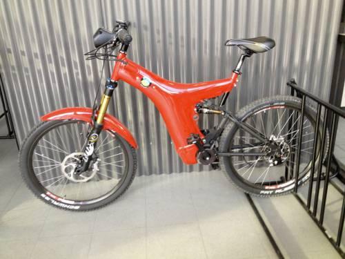 Электровелосипед с приводом Optibike MBB