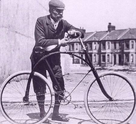 первый байк с одинаковыми колёсами
