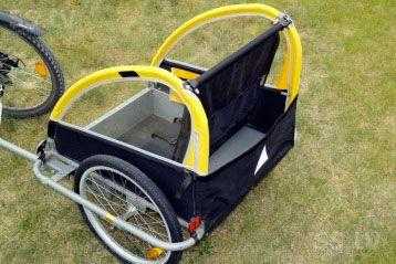 велотрейлер для детей