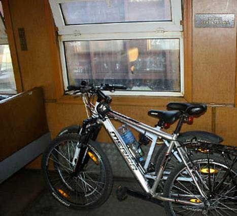 велосипед в вагоне