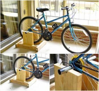 стенд для каркасного велотренажёра
