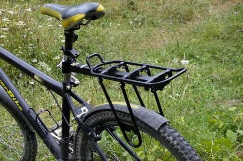 консольный велобагажник