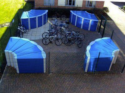 закрытая велоплощадка