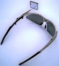 очки с зеркалом заднего вида