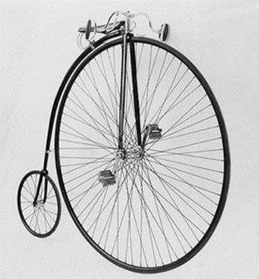 старинный американский велосипед