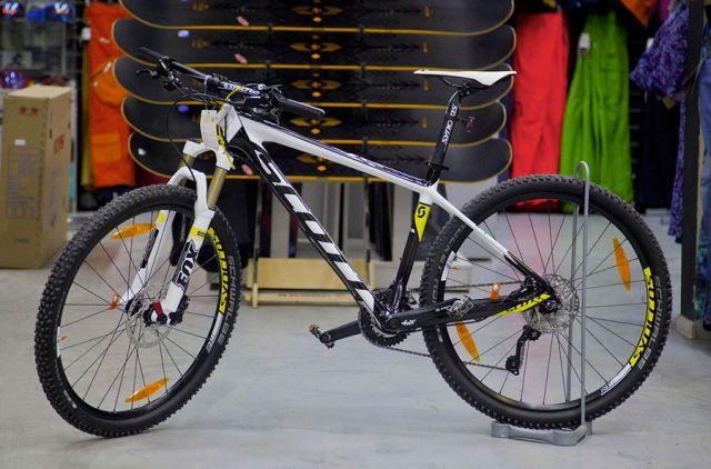 карбовелосипед Scott
