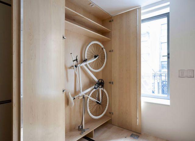 шкаф для байка