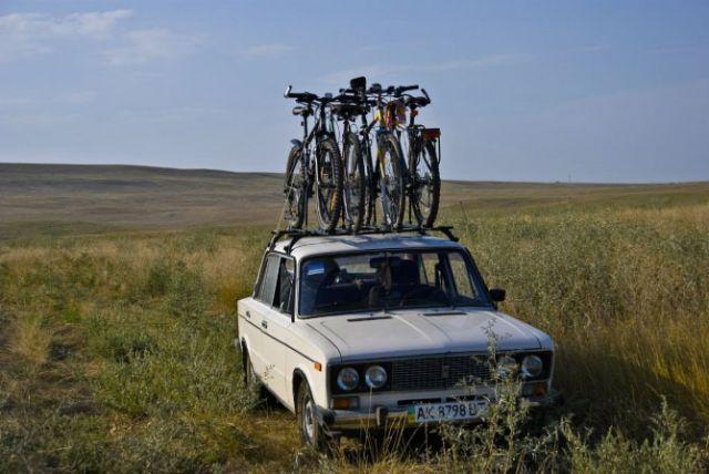 перевозка нескольких велосипедов