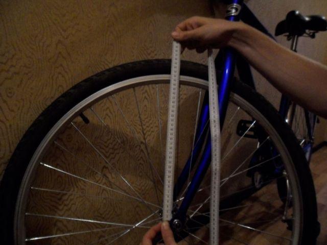 измерение колеса