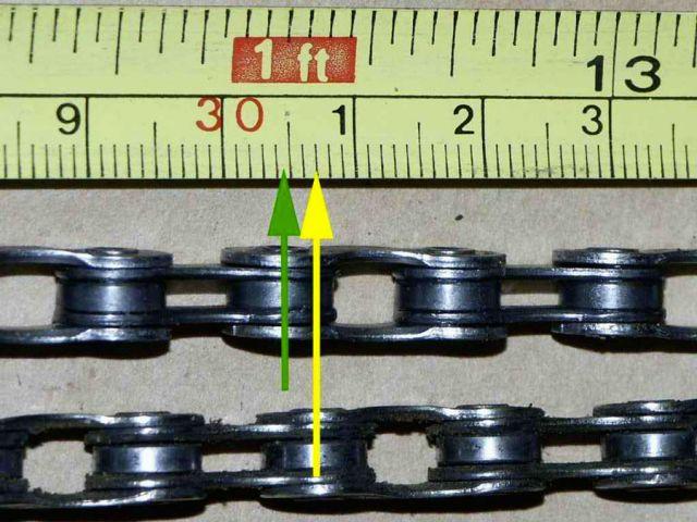изношенная цепь