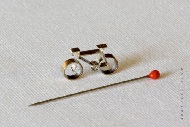 крохотный велосипед