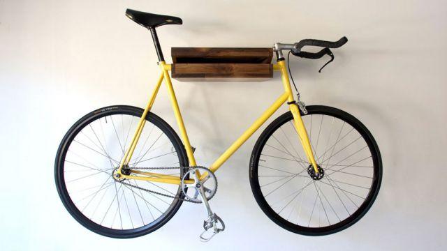 Хранение велосипеда на стене