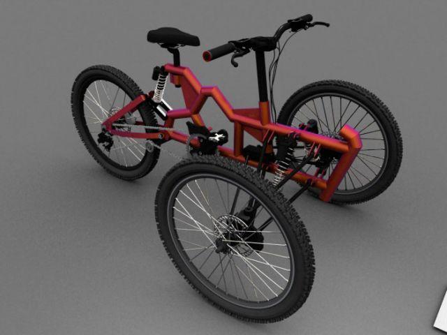 Трицикл-головастик