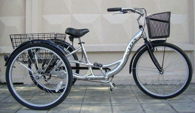 велосипед с вертикальной посадкой