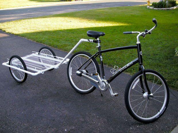 Телега для велосипеда своими руками