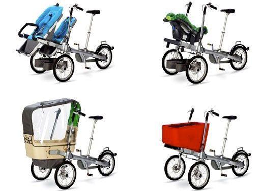 модификации семейных велосипедов Taga Bike