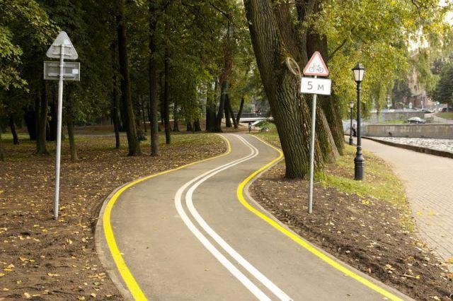 оборудованная дорога для байков