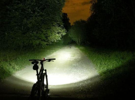 свет от велофары