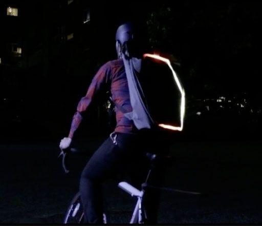подсветка на рюкзаке