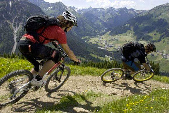 велопрогулка в горах