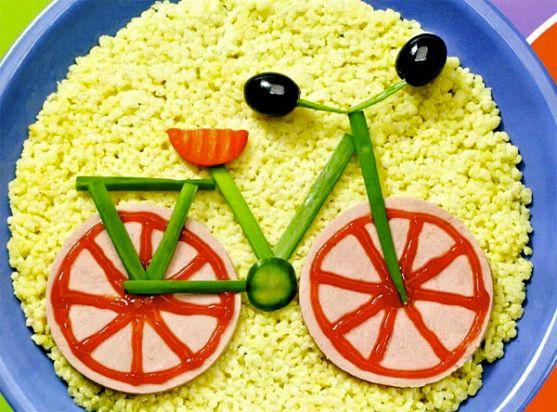 """блюдо """"велосипед"""""""