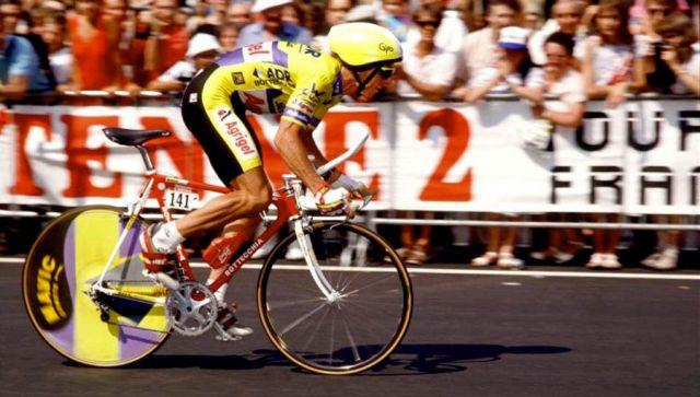 Грэг Лемонд на Тур де Франс 1989