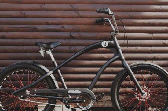 велосипед с роллерным тормозом