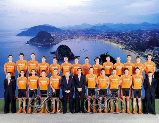 Команда Euskaltel-Euskadi