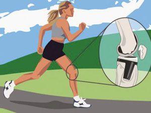 нагрузка на коленный сустав