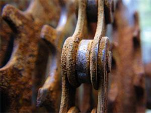 ржавая цепь