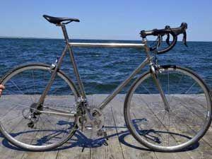 титановый велосипед