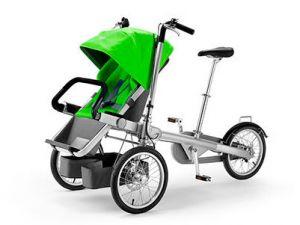 велосипед для мамы с ребенком