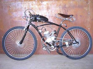 Как из велосипеда сделать мопед своими руками